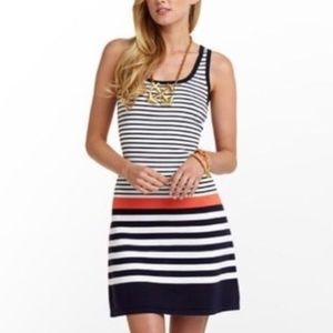 Lilly Pulitzer Stanton Tank Dress Striped Small